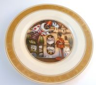Vintage Royal Copenhagen Hans Christian Andersen The Steadfast Tin Soldier Plate.